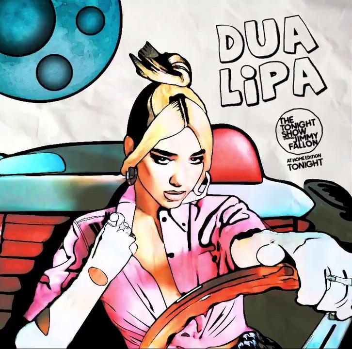 "Image for the Tweet beginning: Tonight! @DUALIPA sings ""Break My"
