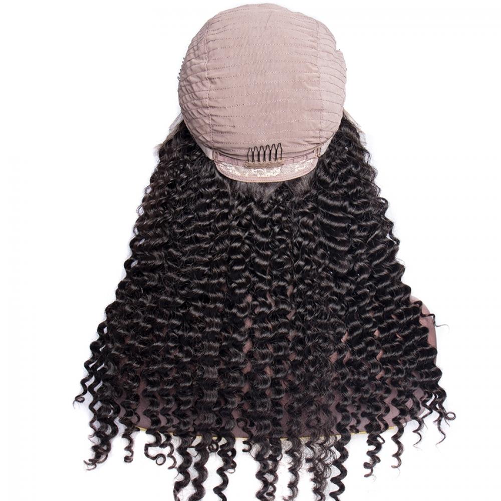 #glam #stylish Curly Human Hair 150 Density Wigs