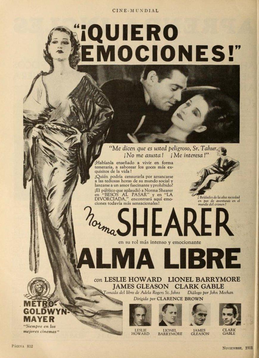 1931 Your favorite stars from #CINEMUNDIAL magazine #spanish #LatinAmerica #normashearer #ramonnavarropic.twitter.com/feG4uMuOMO