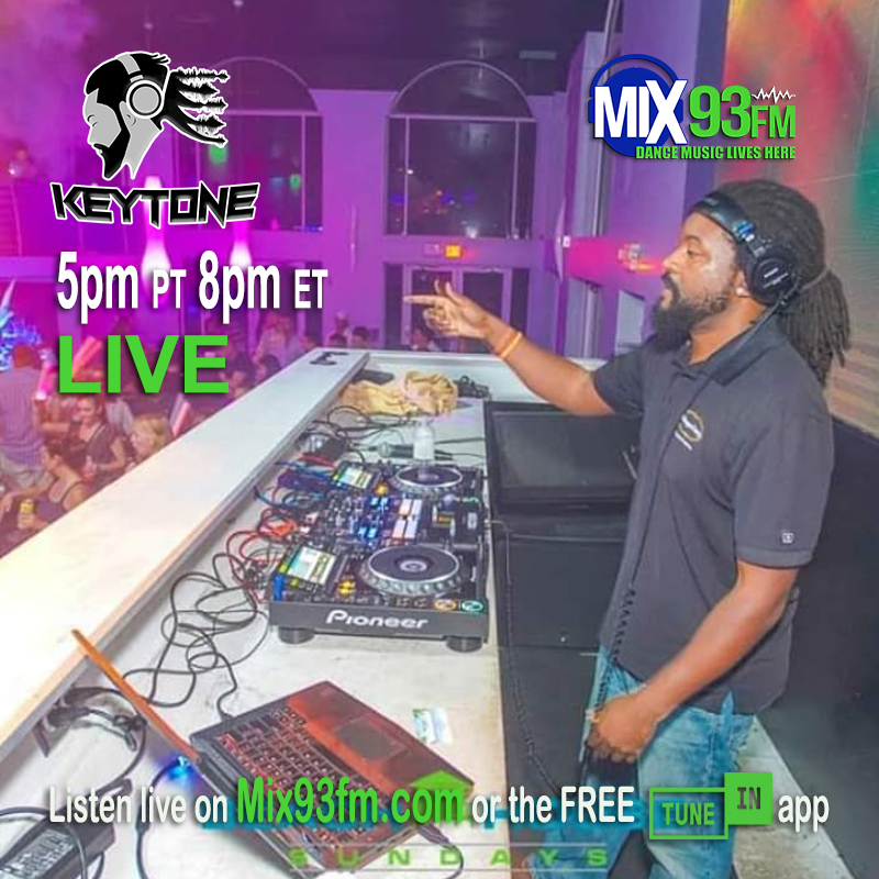 KEYTONE #LiveBroadcast 5pm PT 8pm ET 1am UK on http://www.Mix93fm.com  or look for #Mix93fm on FREE @tunein app #NowPlaying #HouseMusic #DeepHouse #TechHouse #VocalHouse / #LadiesNIght at 6pm PT #CommercialFree #Mixes #BdsRadiopic.twitter.com/YONLXvtWi5