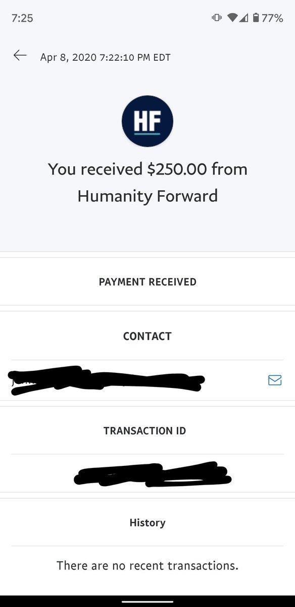 Thank you Andrew Yang!!! #HumanityForward 😭🙏😄 @AndrewYang