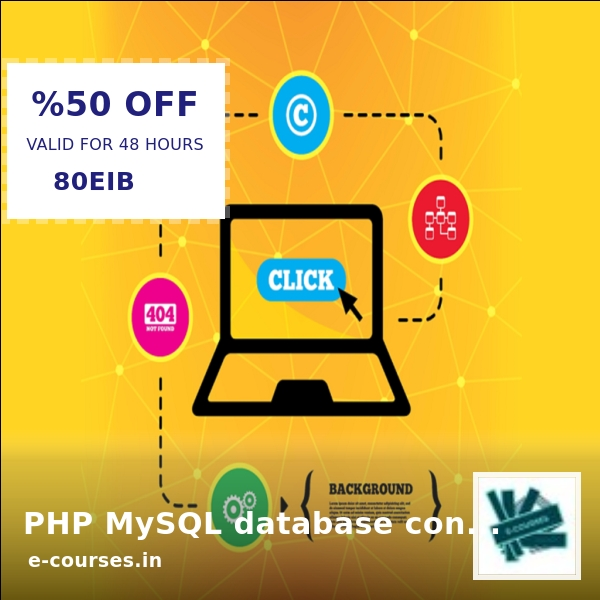 ⁉️CAN YOU BELIEVE IT⁉️ 👌😍 Now selling at Rs. 465.99 😍👌 PHP MySQL database connections 👉 Shop the range here ⏩   👈 #ecourse #e-course