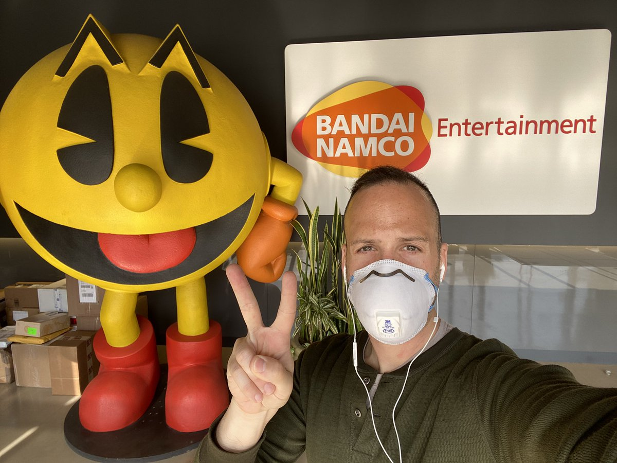 Incredibly thankful for an excellent 2+ years working for my childhood hero. Thank you, @BandaiNamcoUS.✌️ https://t.co/rkuablBQaj