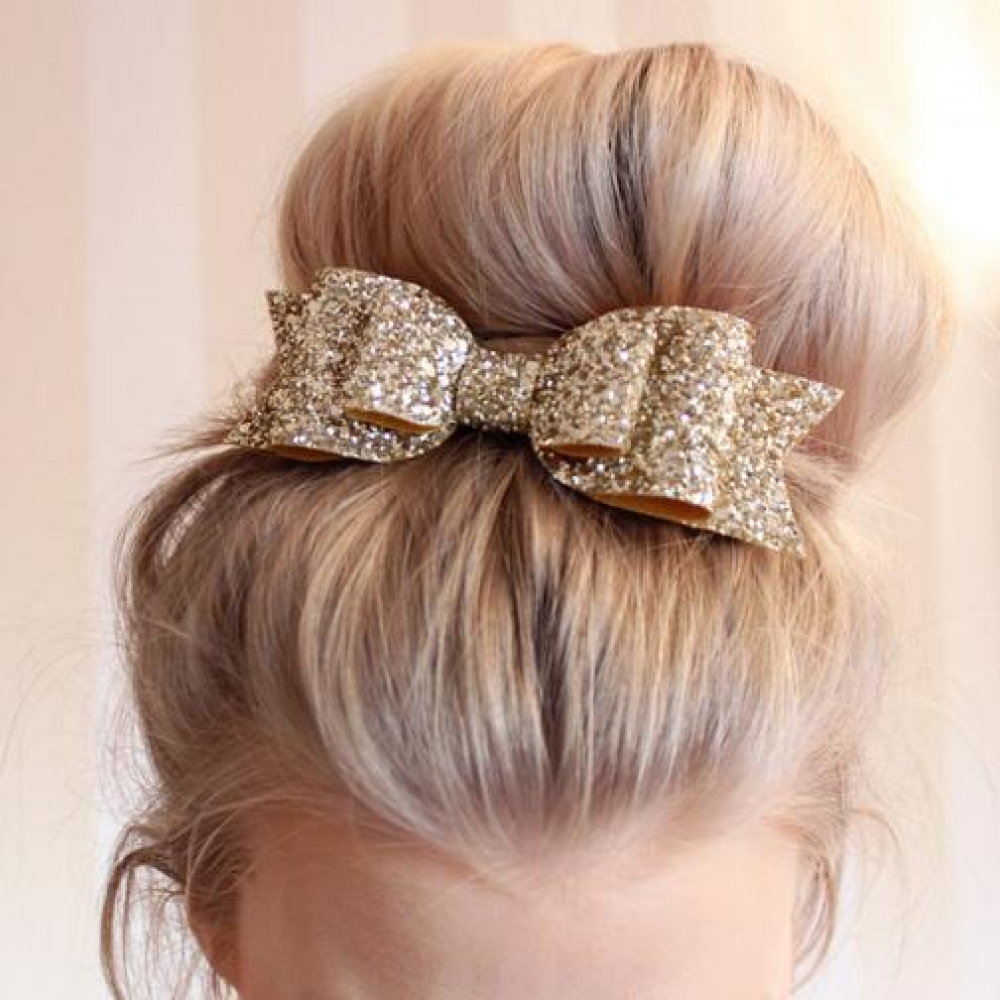#hair #stylish #styles Big Glitter Hair Clips for Children