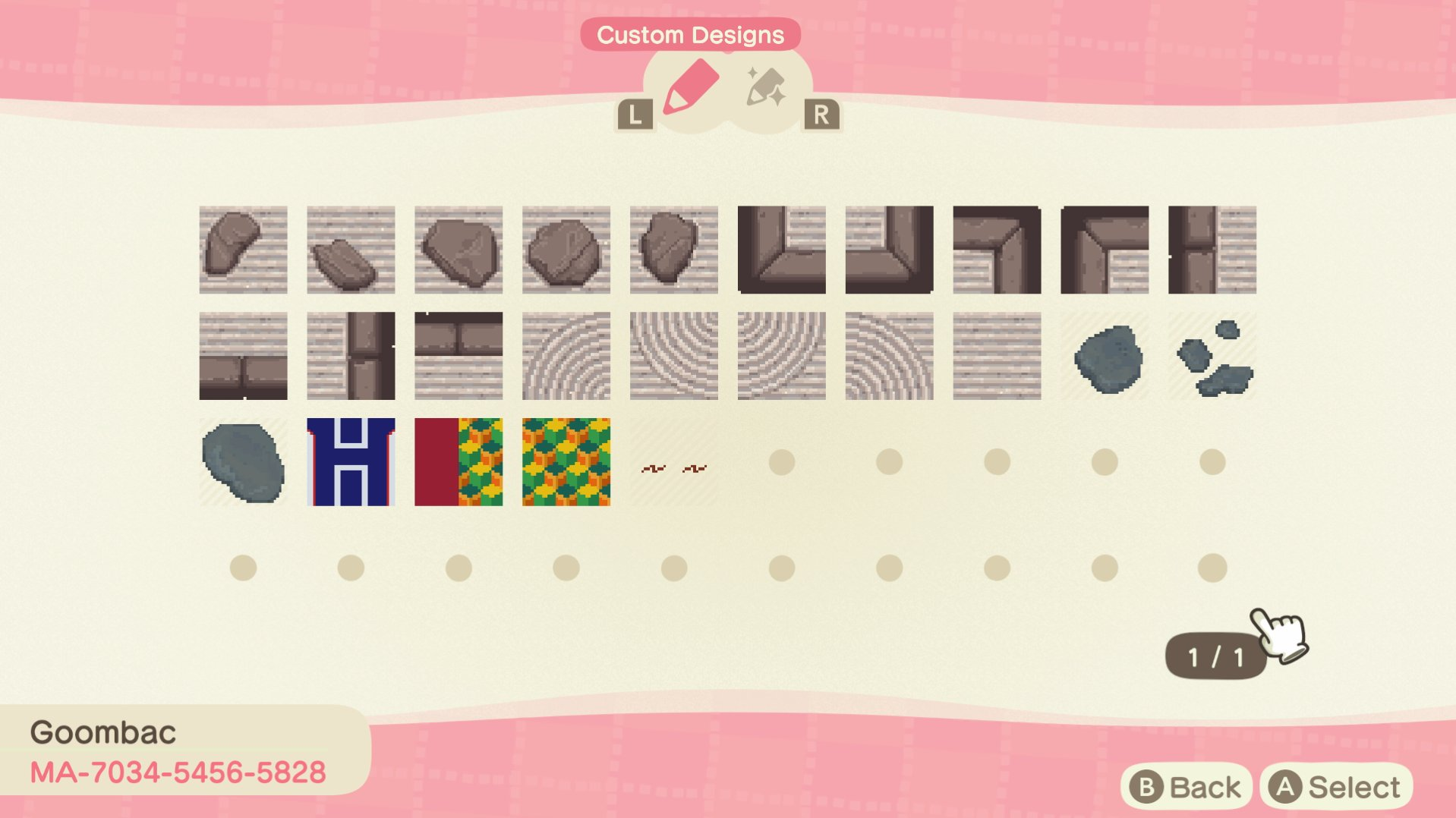 Goombac On Twitter Made Some Custom Zen Garden Textures In Animal Crossing Animalcrossingnewhorizons Animalcrossing Acnh