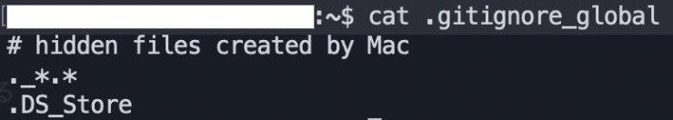 /mac環境で、.DS_Storeとか ._から始まる不可視ファイルができてしまう問題✏︎\gitのグローバルの.gitignoreに記述しておけば、いちいちプロジェクト各々の.gitignoreに記述しなくても大丈夫とのこと。早速私も.gitignore_globalを設定してみました。#paruko_memo