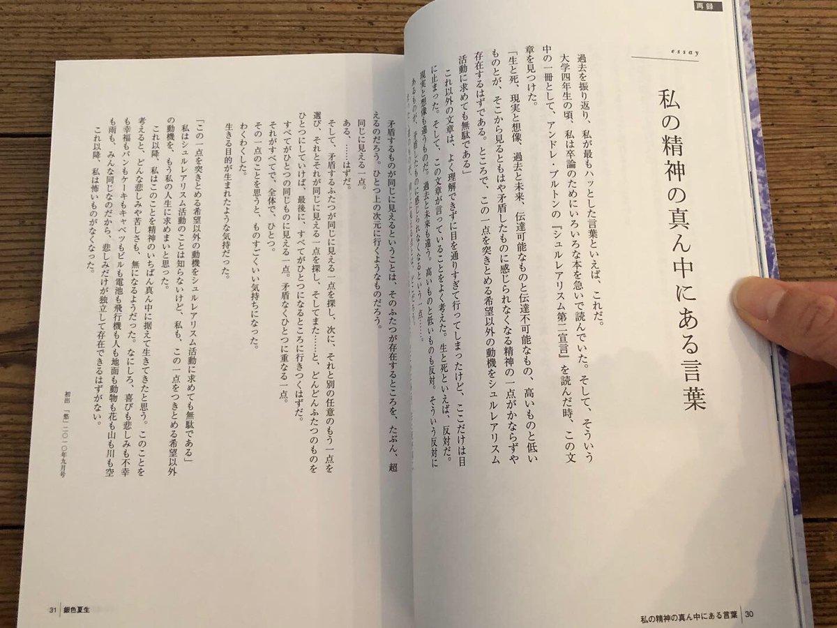 "ao-yoru-sora على تويتر: ""「文藝別冊銀色夏生」(河出書房新社発行 ..."