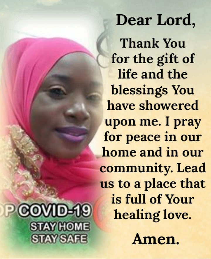 #OFMMorningPrayer Thank You Lord for this day. Pls pour out your common grace on our world to halt Covid-19 in its tracks. Heal our sick world. Pls intervene to slow the spread of Covid-19 in countries all ovr the globe & help put an end to it. Amen. Good Morning!O. F. M Prayspic.twitter.com/CIn6Icnle5
