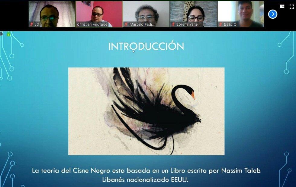 Miércoles de conferencia. Cisne negro vs #Ciberseguridad conferencista invitado @beastjqk . #ISTTENA Generando #CulturaEnCiberseguridadpic.twitter.com/hqWHNo9QAV