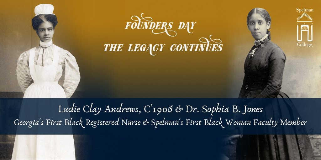 "Spelman College on Twitter: ""Today, we honor Ludie Clay Andrews, C ..."