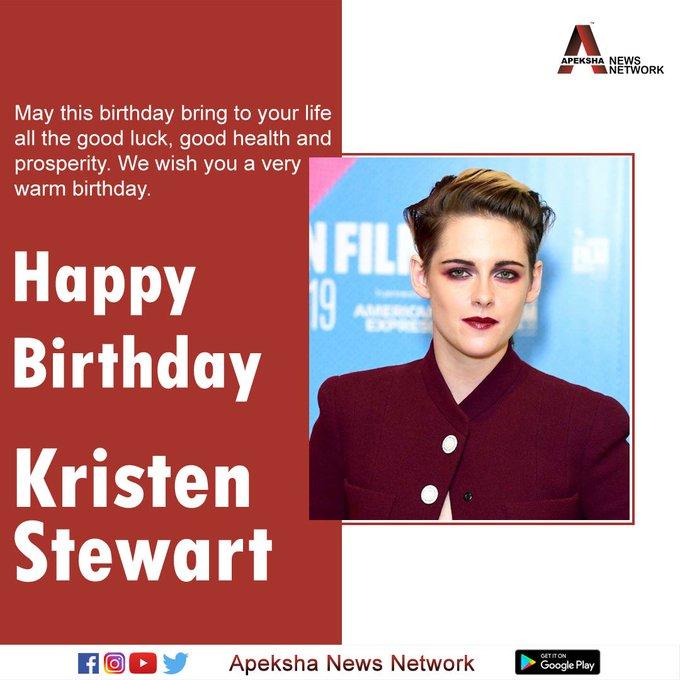 Wishing the gorgeous Kristen Stewart a very Happy Birthday.