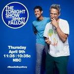 Image for the Tweet beginning: The Tonight Show Starring @jimmyfallon