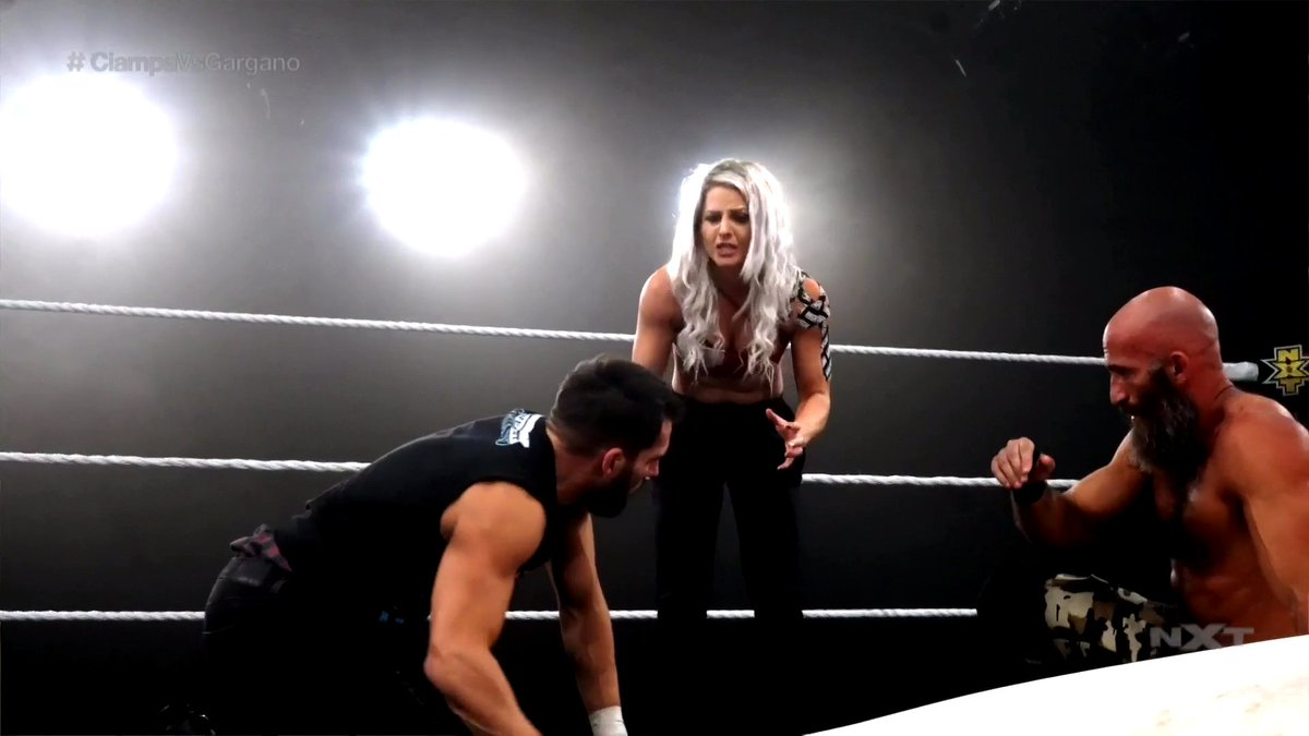Candice LeRae Helps Johnny Gargano Win His Final Match Against Tommaso Ciampa In WWE NXT (Videos)
