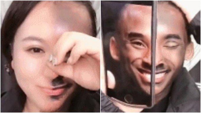 【影片】最強女科蜜!女球迷美妝後對比神似偶像Kobe,相識度堪稱是99.99%!