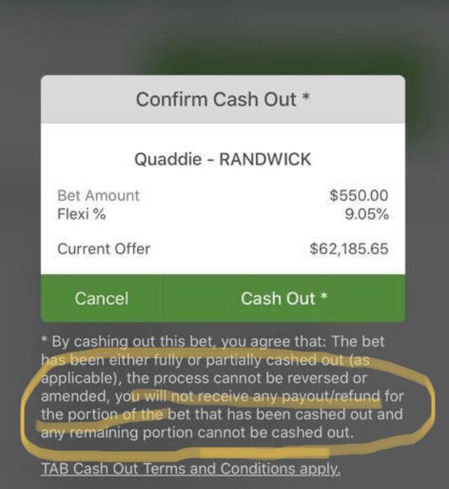 Tab betting quaddie approx betting line nfl week 1 2021