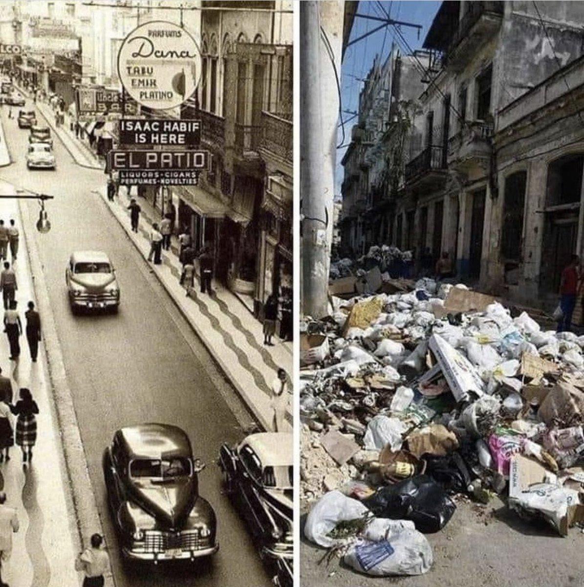 """Boris luis Bordon on Twitter: """"Cuba antes de 1959 y la cuba de hoy ..."""