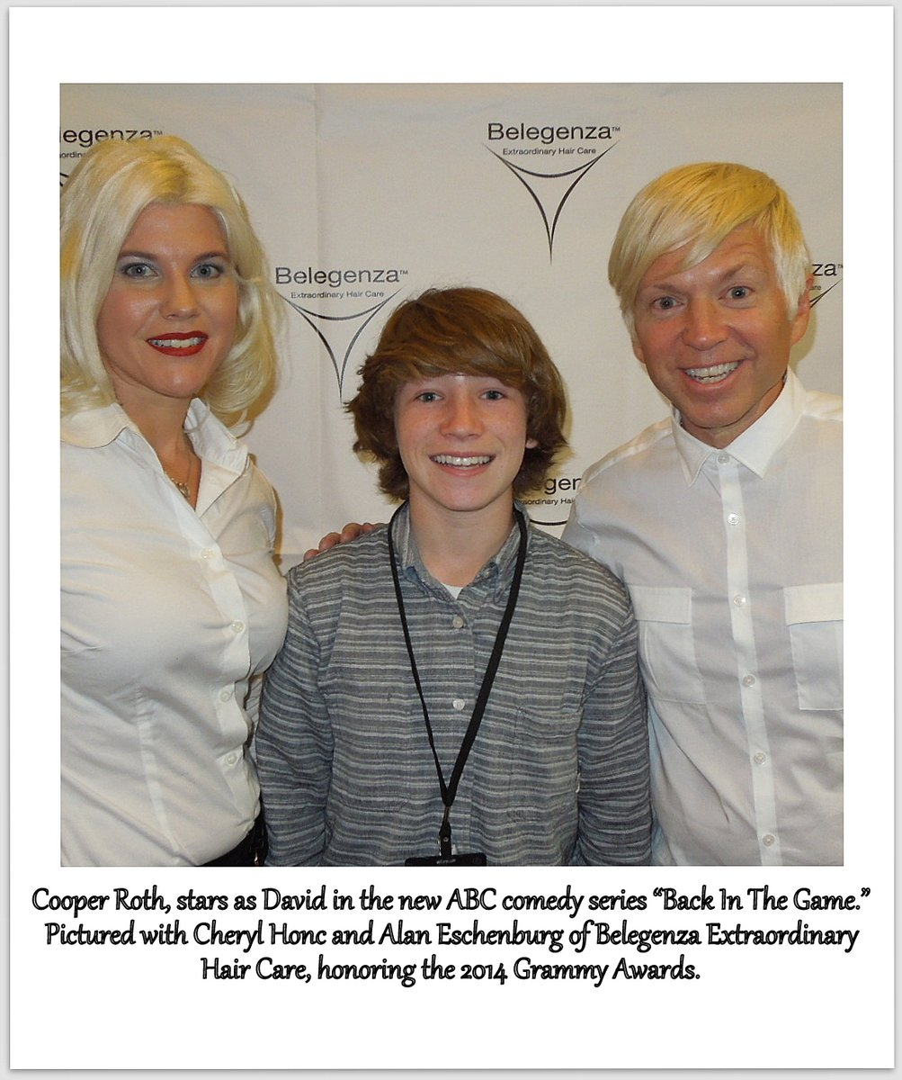 """Cooper Roth's latest project, the film """"The last supper,"""" is in post production. The short/thriller also stars Clarissa Hoffman. #hair #organic #belegenza #CooperRoth #Thelastsupper #ClarissaHoffman"""