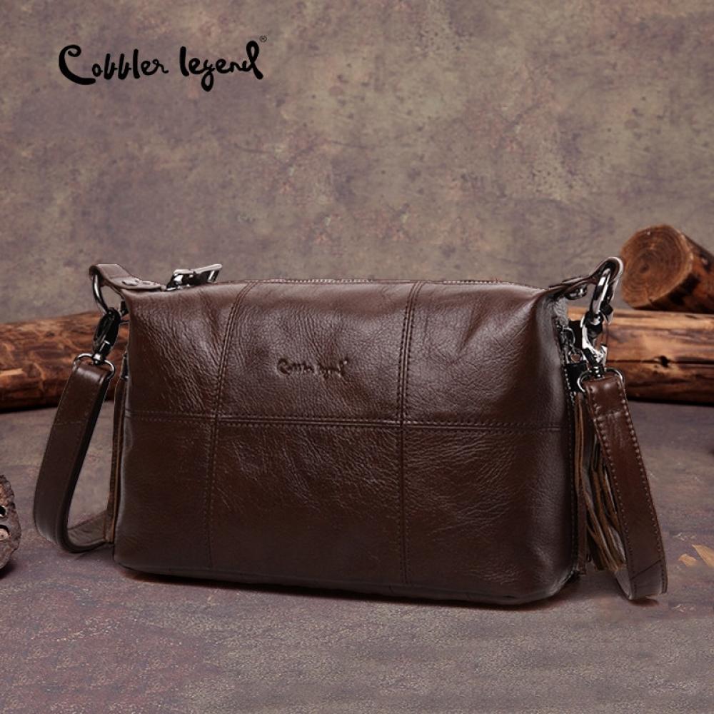 #fashion #style #tech Cobbler Legend Hobo Women Bag Female Ladies' Genuine Leather Tassel Handbag Shoulder Crossbody Bags Small Tote Bag Purse pic.twitter.com/qBco7tan8G