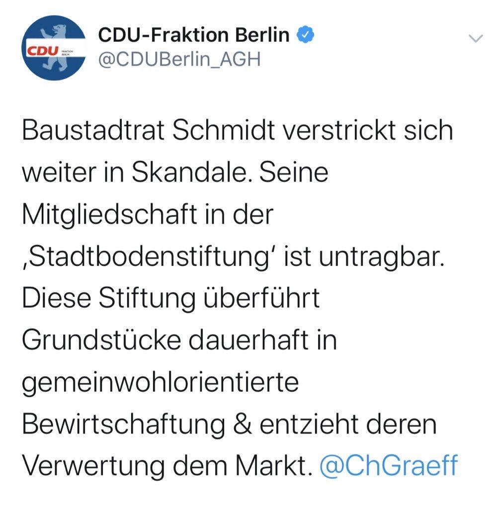Herzlich Willkommen zum lustigsten Tweet, den ich jemals von der CDU lesen durfte.