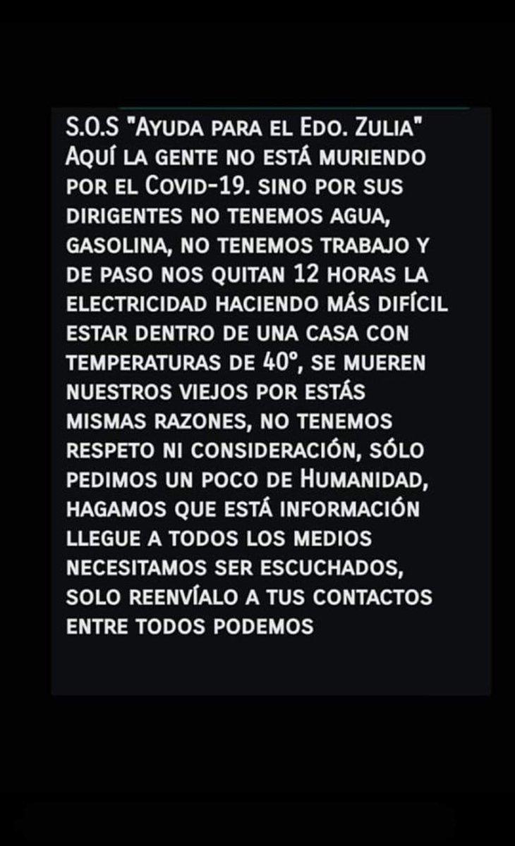 Crisis humanitaria en Venezuela, pobre gentepic.twitter.com/6QxgbIHOpO