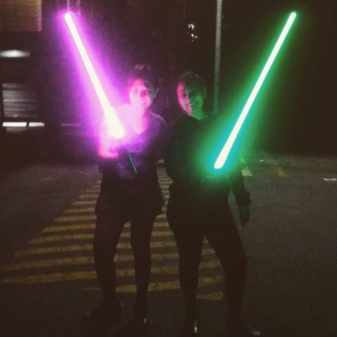 When all I did was trying to be a Jedi. Can I be your Padawan @HamillHimself  Sunrider Destiny saber.  #CorelliaTemple #CorelliaTheHiddenTemple #PadawanLearner #7elevenday <br>http://pic.twitter.com/unliPwySR5