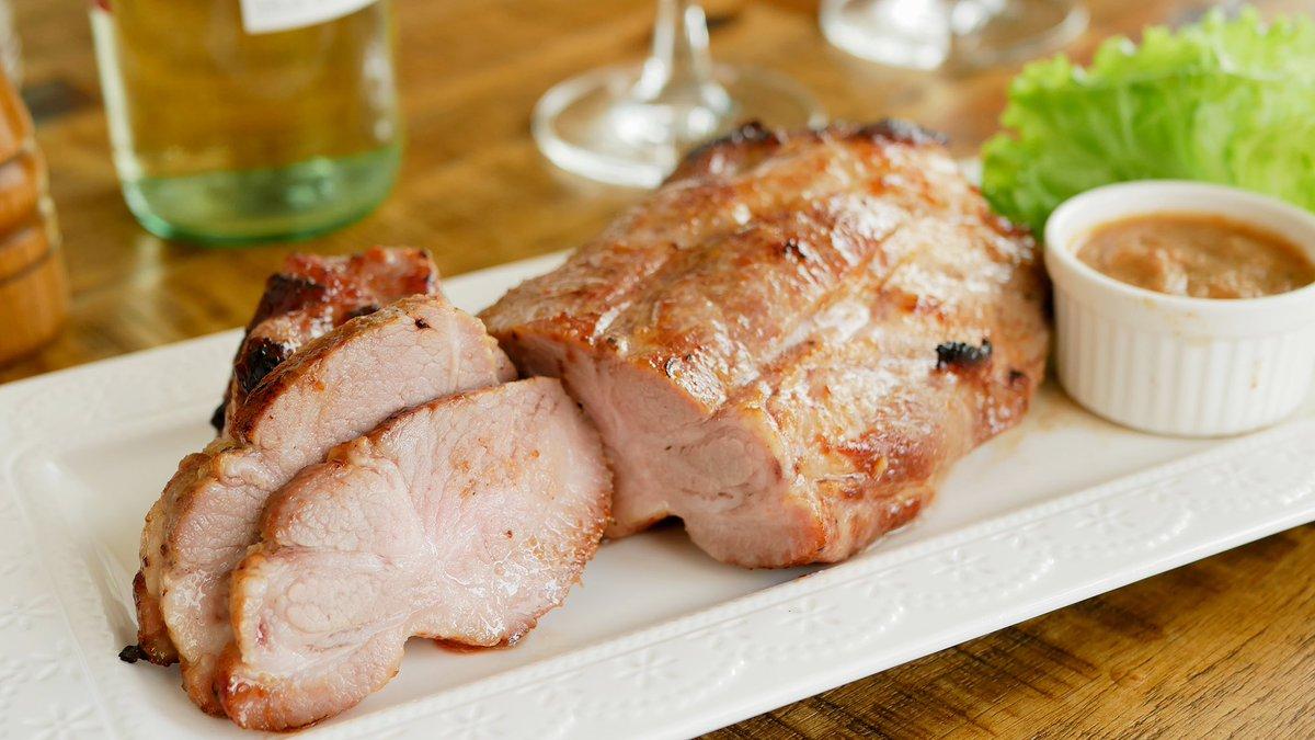 新しいレシピをクックパッドに投稿しました(*´-`)豚肉のピリ辛お味噌レシピですよっ♪〜激柔〜豚ブロックの辛味噌漬け焼き