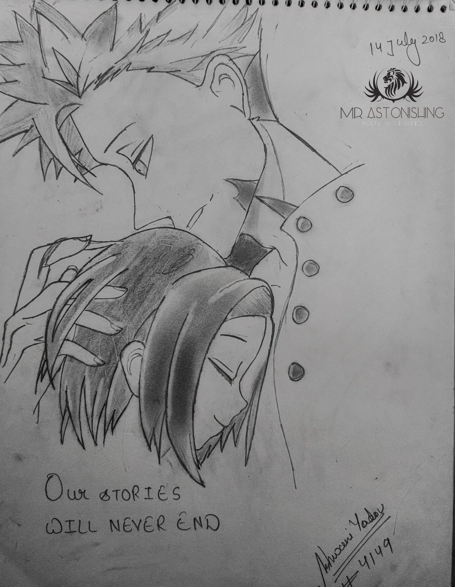 BAN X ELAINE. . #animesketch #anime #animeart #art #drawing #animedrawing #sketch #manga #mangaart #animegirl #animeartist #animedraw #animefanart #animeartwork #animes #artist #mangadrawing #fanart #sketchbook #animedrawings #illustration #mangasketch #animestyle #artwork #drawpic.twitter.com/zjBJQ8Ans6