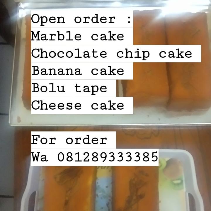 Di buka lagi yaa orderan kue nya  #bolujadul #cake #sweet
