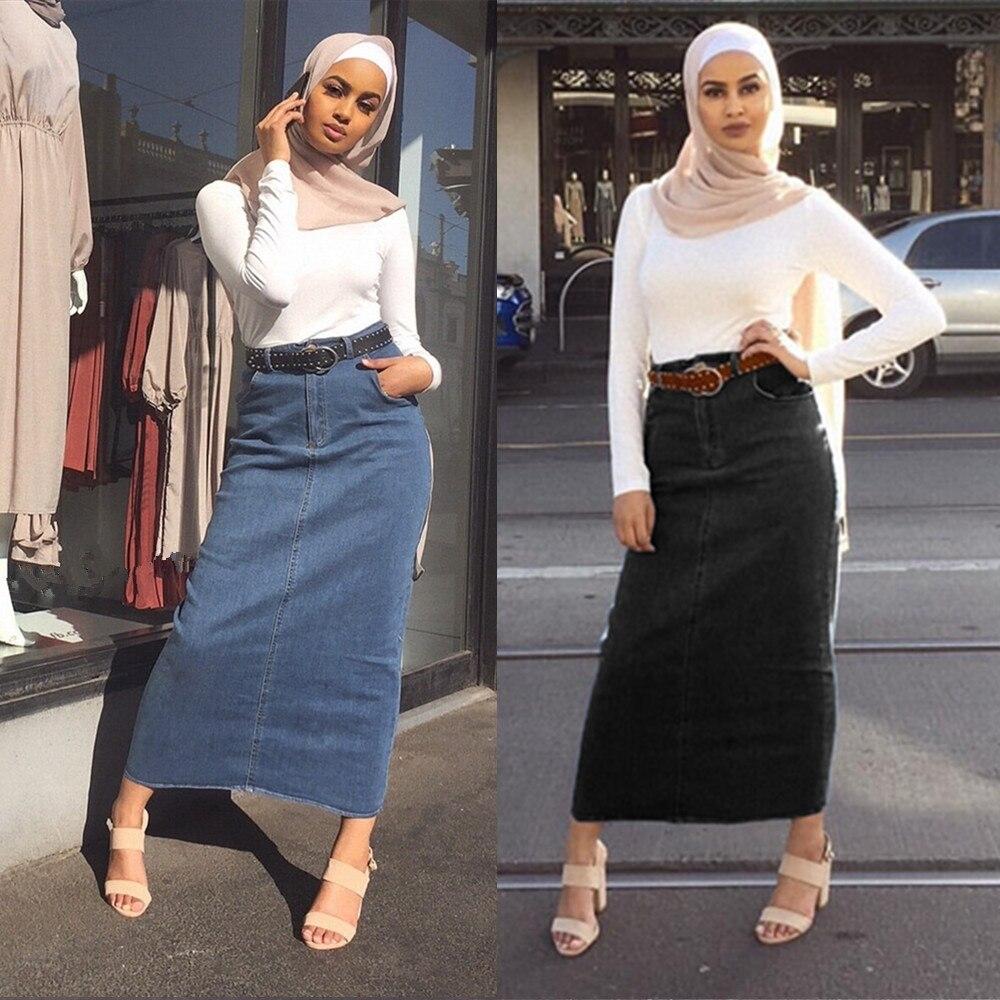 #shoes #pretty Dubai Arab Muslim Pencil Skirt Women High Waist