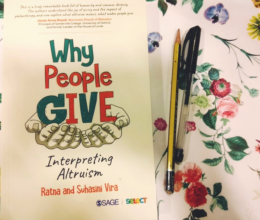 Let's understand the impact, importance and the need of 'The Art of Giving' in these difficult times. Download this intriguing read @ ow.ly/48oY50z1THo #altruism #empathy #SAGESelect #RatnaVira #SuhasiniVira #QuarantineReads