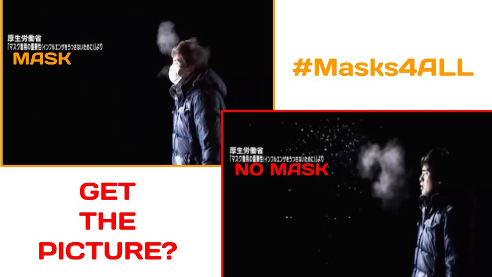 #Masks4ALL isn't about depriving our already mightily deprived frontline healthcare workers of the N95 masks they so desperately need in order to protect themselves in this civilization-defining blood-and-guts battle for the rest of us. It's about sending them less sick people /4