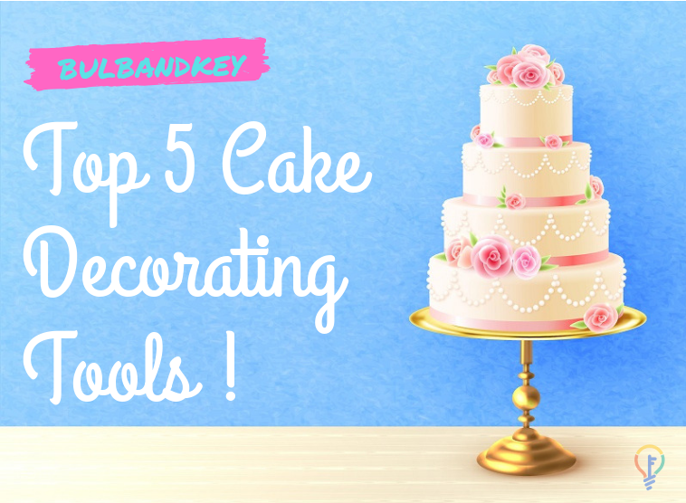 Here is a list of the must-have Top 5 #Cake #Decorating tools.    #cakes #decoration #designercake #cakedesign #sweet #bake #baking #cakedecoration