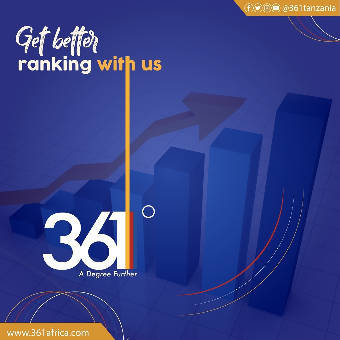 Would you want to get better ranking with us for your #eventmanagement #publicrelations #marketing #advertising #conference #exhibitions #publishing #fabrication #mediamanagement #b2b #tradeevent in #tanzania #Africa ?  If YES, Email us on info@361africa.com