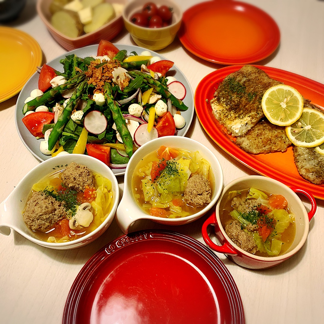 今夜は洋食 ー アメブロを更新しました#桜井奈々#春キャベツ