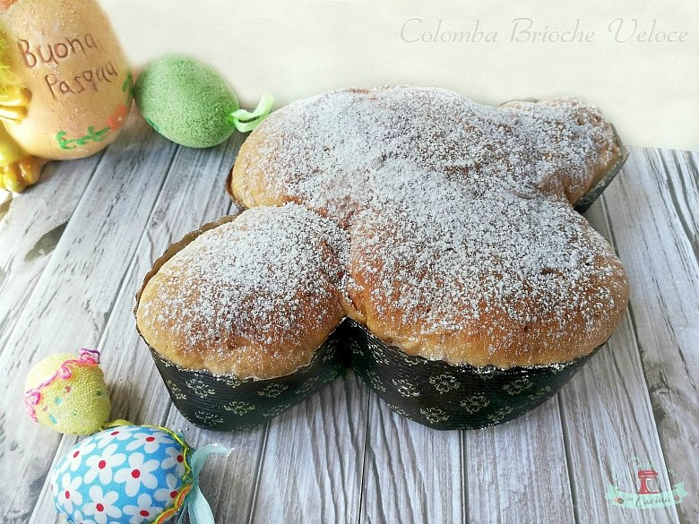COLOMBA BRIOCHE VELOCE:   #ricette #food #delicious #dolcissimo #sweet  #cucina #homeMade #deliciousfood #homemadefood #Pasqua #colomba