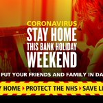 Image for the Tweet beginning: ❗ Please #StayAtHome  this