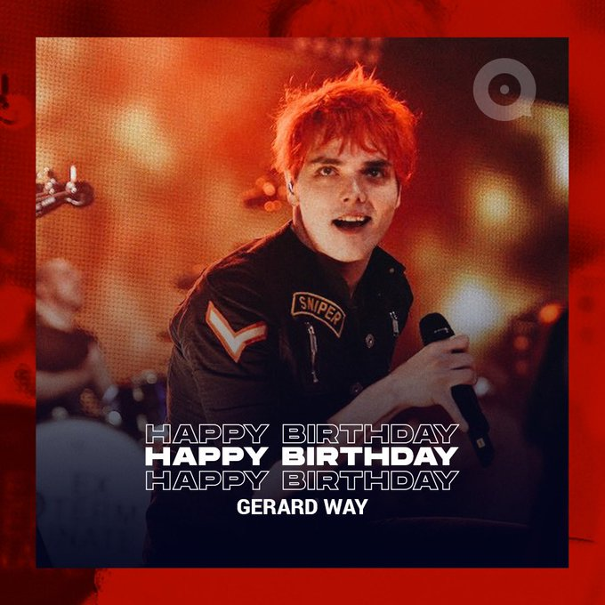 Happy Birthday Gerard Way!   Celebrate and listen to his songs by click: