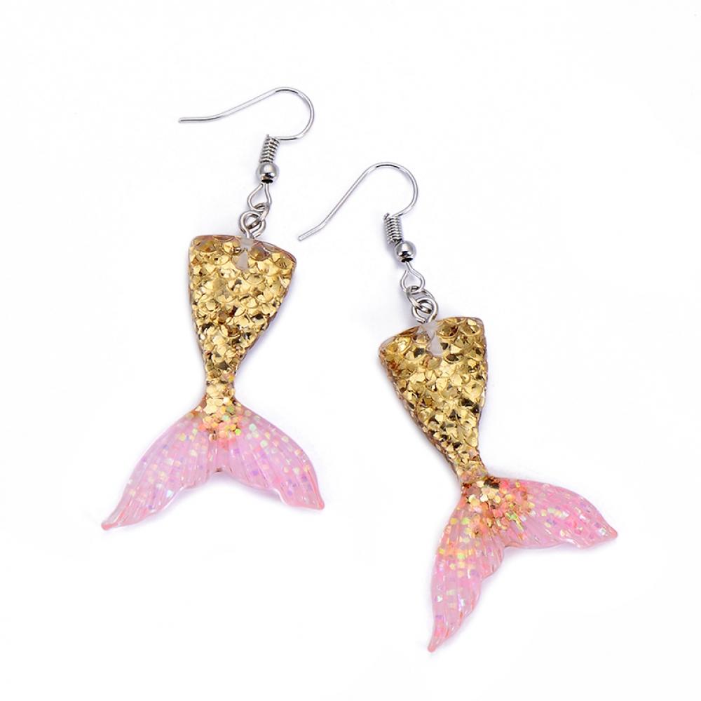 Cute Mermaid Girls' Earring #pink #emo https://mechakawaiistore.com/cute-mermaid-girls-earring/…pic.twitter.com/G0vO2a0mc8