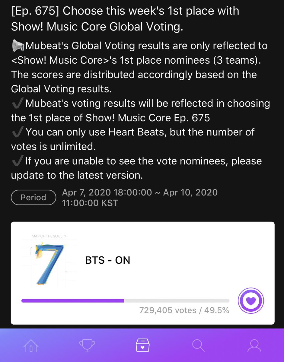 One last thing: Remember to vote on MuBeat for Music Core!  #スッキリライブ #BTS   血、汗、涙 @BTS_twtpic.twitter.com/dLpeZrkypD