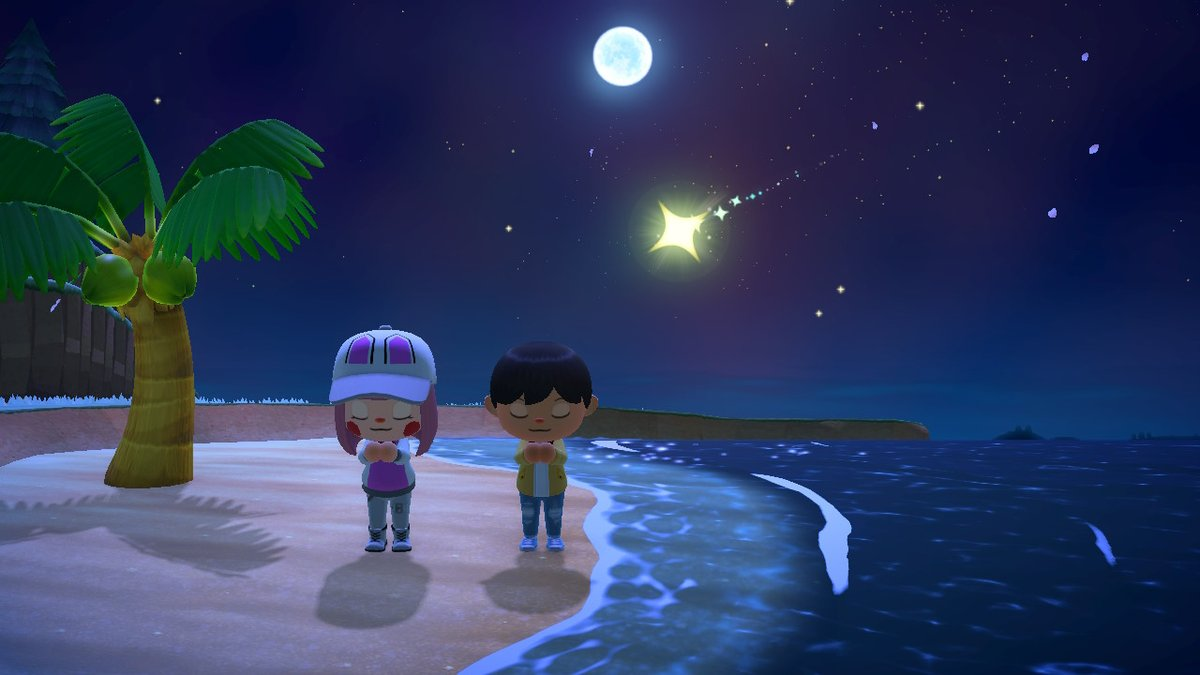 When you wish upon a star... #AnimalCrossing #ACNHpic.twitter.com/L3YohqE5UA