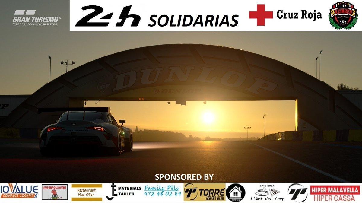 Ha llegado el gran dia! Hoy toca que la escuderia se vuelque en las #24HCOVID19TRZ! Evento junto a la gran comunidad simracer española en el cual aportaremos toda nuestra ayuda a @CruzRojaEsp! Unidos por una buena causa!   YT: Team Razinger Z eSports  14:00h  #GoTRZpic.twitter.com/IFU6DNIvHI