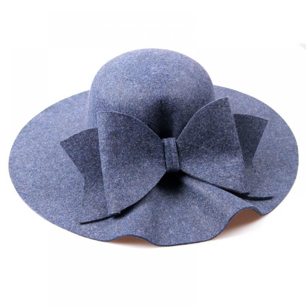 #girl #look Vintage Bow Embellished Woolen Hat