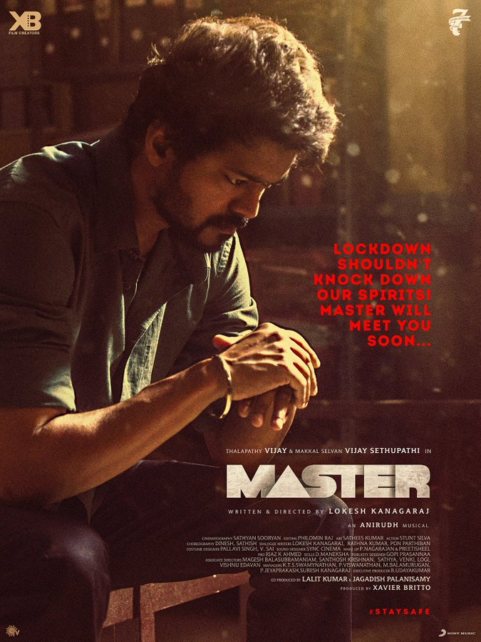 vijay master movie release update