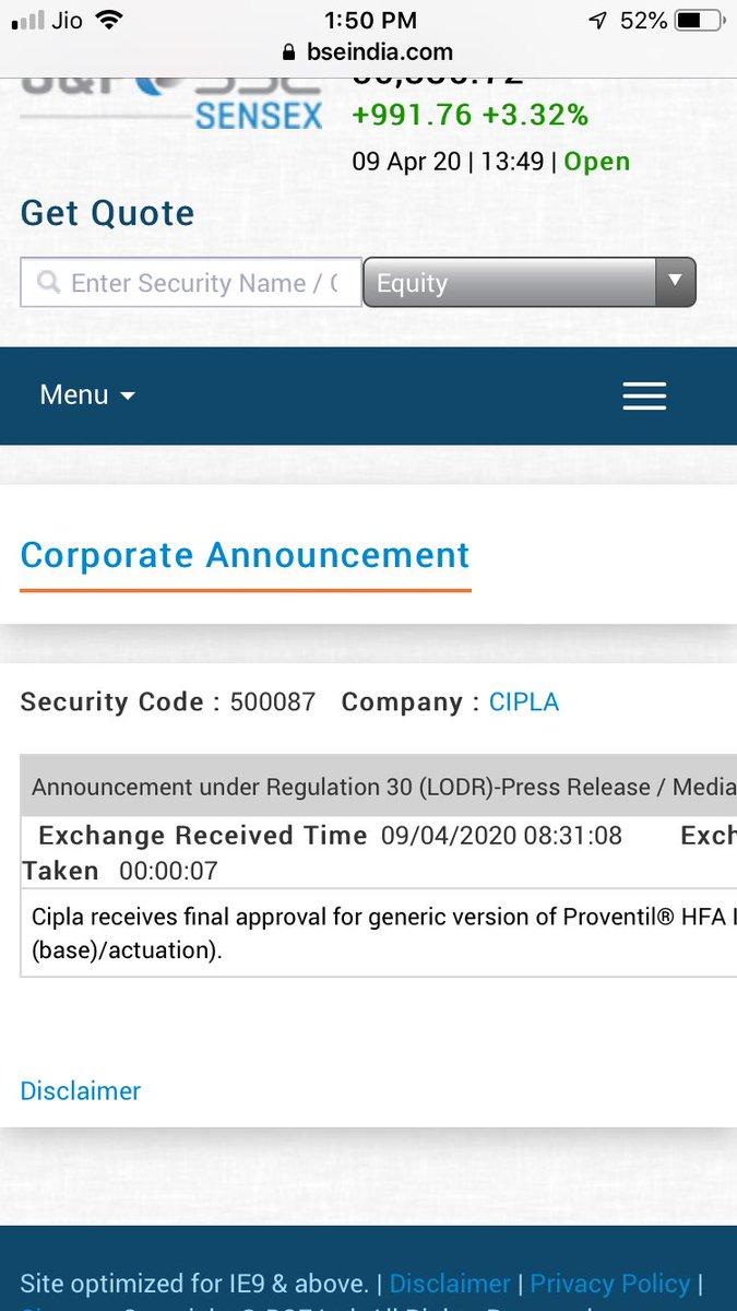 @DrGPradhanFC Ji. 4 Approval in a day ... twitter.com/P_Sai_Kiran/st…