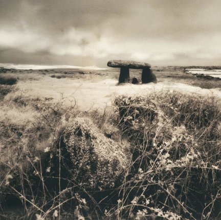 This is one of Peters series of Cornwall ancient sites, its Lanyon Quoit. Taken with infrared film. #ancientsites #cornwall #infraredfilm