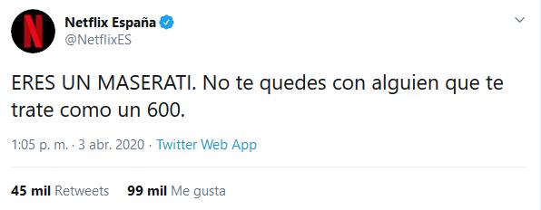 """RocaSalvatella Twitter પર: """"El viernes pasado fuimos protagonistas de uno  de los tweets más virales de las últimas semanas. Con motivo del estreno de  la Casa de Papel, Netflix publicó el siguiente"""