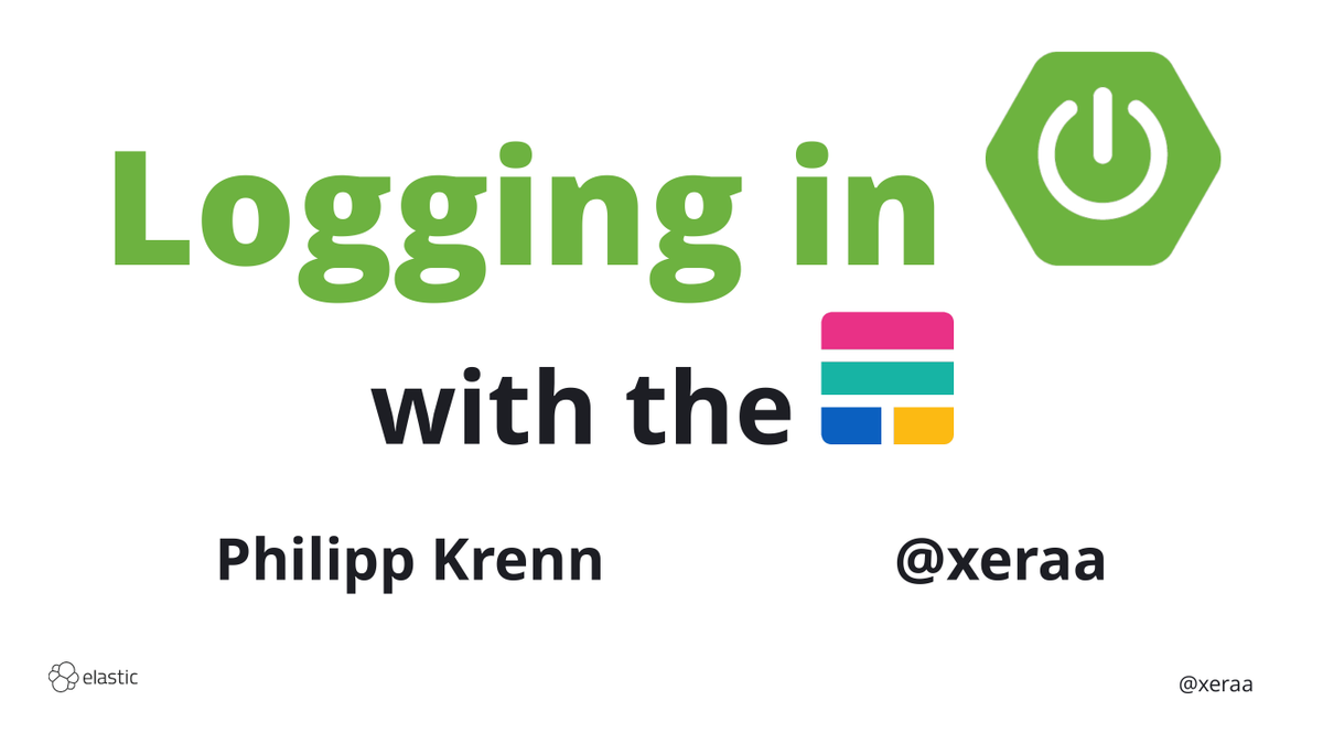 "Yesterday's slides for ""Logging in Spring Boot with the Elastic Stack"": https://xeraa.net/talks/logging-in-spring-boot-with-the-elastic-stack/ … No regular expressions, less coupling and application overhead — might be time to rethink your classic ELK patternspic.twitter.com/Ti2CV2pBOk"