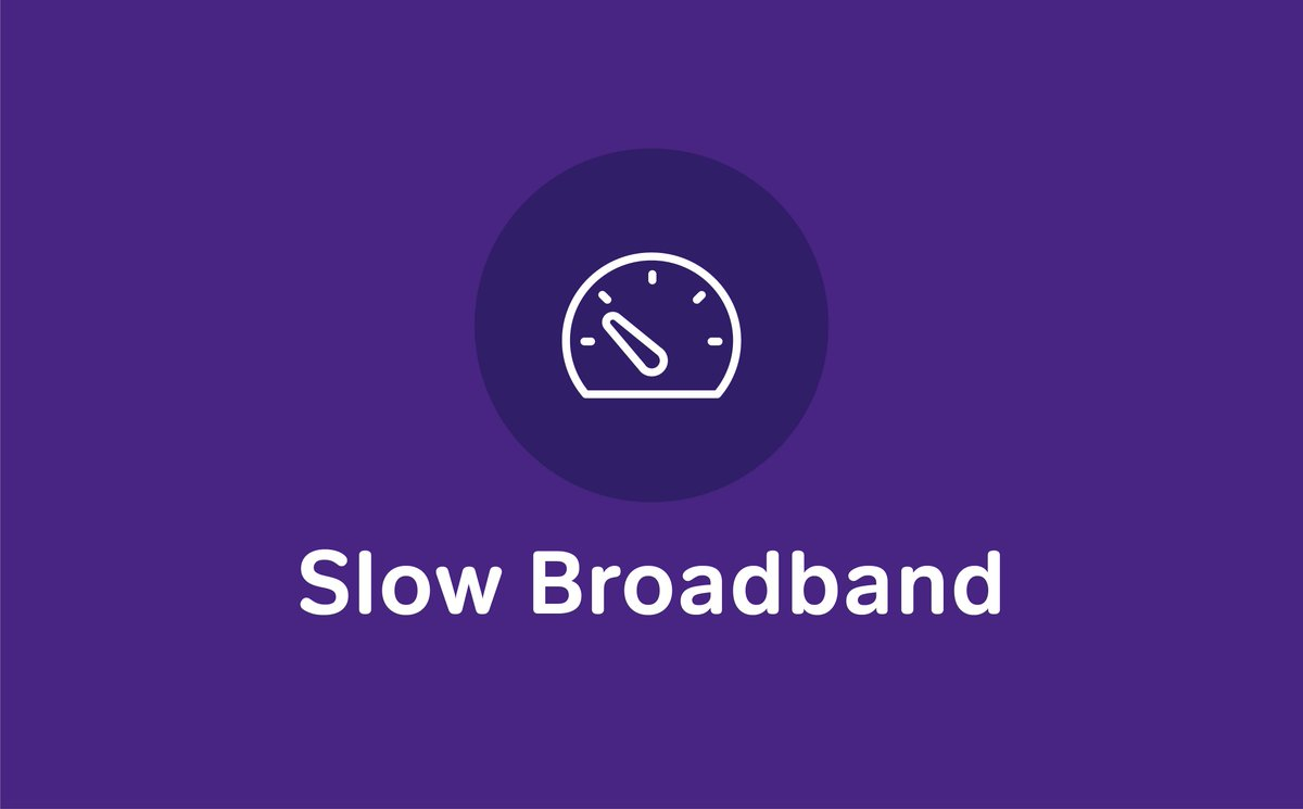 Slow broadband? This could just be due to the network being busier than usual, but you can try our top tips to help improve your NOW Broadband speed: