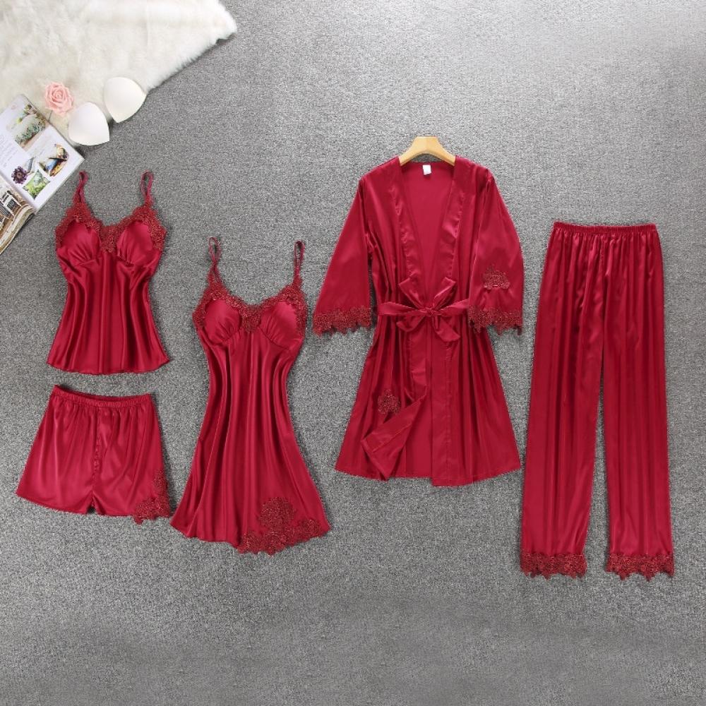 #igers #tagsforlikes Women's Winter Silk Pajama 5 pcs Set https://purevenom.store/womens-winter-silk-pajama-5-pcs-set/…pic.twitter.com/5mU8Hr2pTA