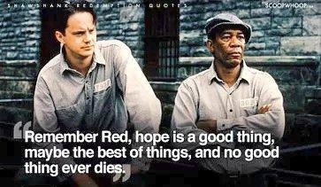 #ShawshankRedemption is one of the best film that i have ever seen. it teaches you !  Never lose Hope Life Long Friendship Life is Unfair  The movie is popular for many reasons. and the last 20mins amaze me.  The movie you must watch before you die ! The quotes in Moviepic.twitter.com/avYiylnj30